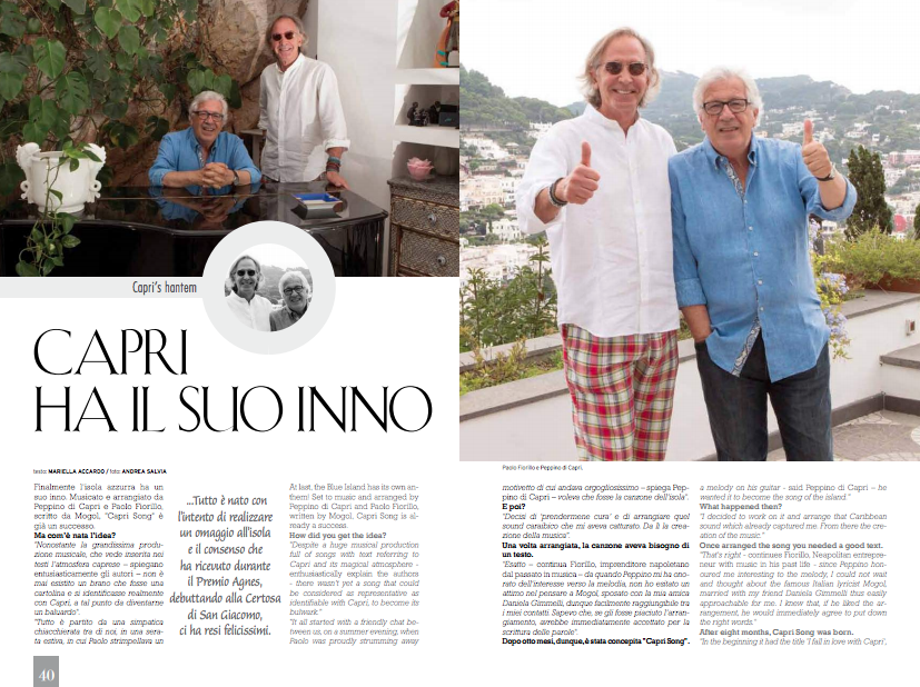 Yacht Capri Magazine